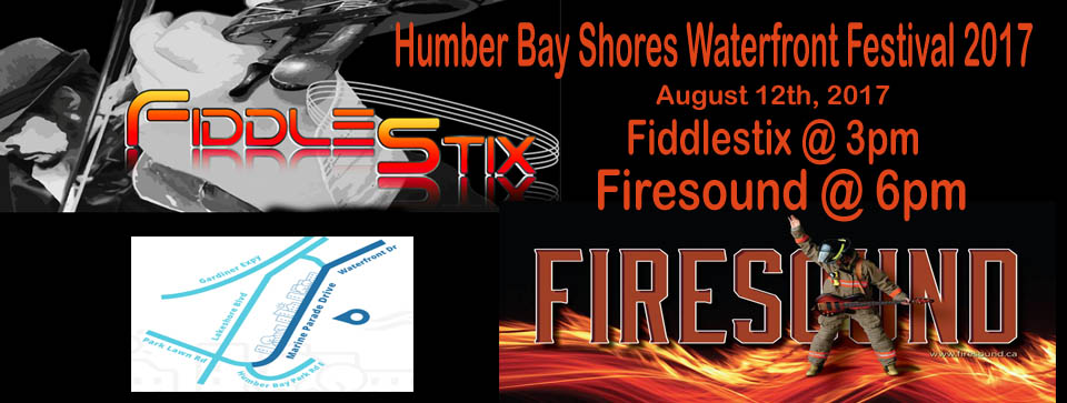 Humber Bay Shores Annual Waterfront Festival August 11 @ 6pm