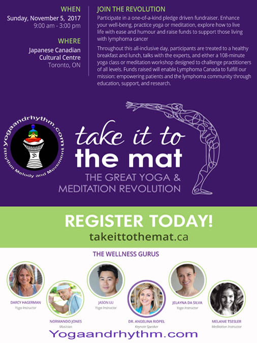 Take It To The Mat   Sunday Nov 5/17  9am-3pm