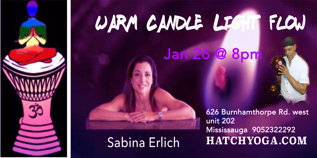 Hatch Yoga Jan 26 @8pm
