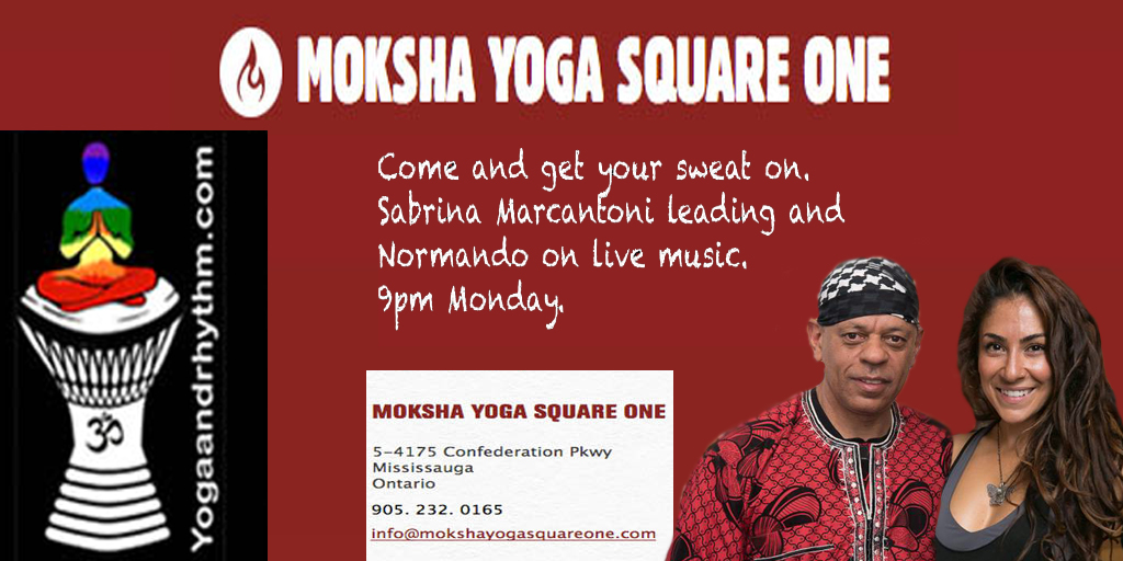 Hot Yoga Moksha Flow March 26/18 9pm